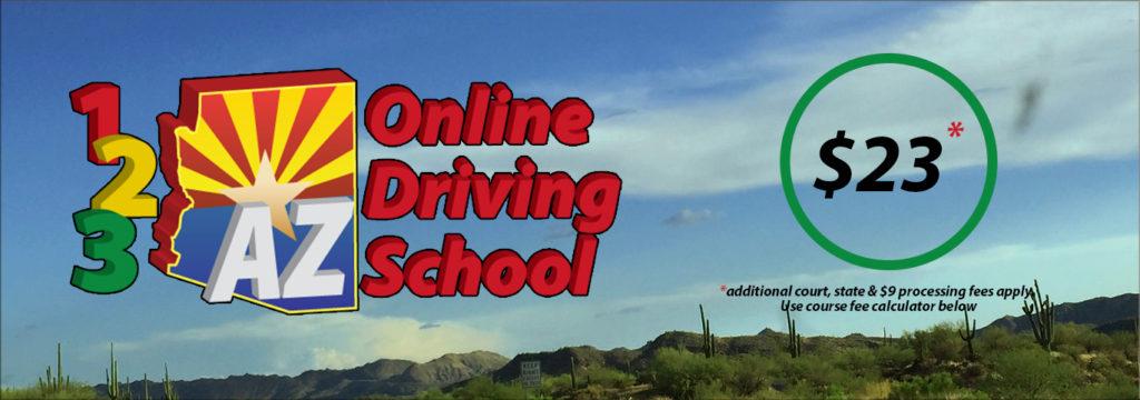 Arizona Defensive Driving School|123 Az Online Driving School